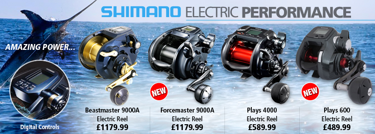 Shimano Electric Performance Reels