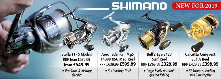 Shimano Reels New for 2019§