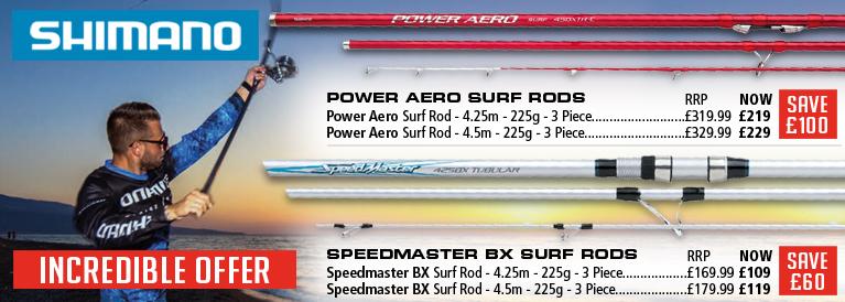 Shimano Speedmaster and Power Aero Incredible Offer