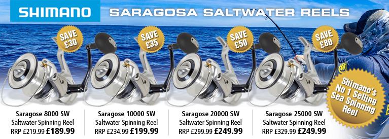 Shimano Saragosa Saltwater Spinning Reels