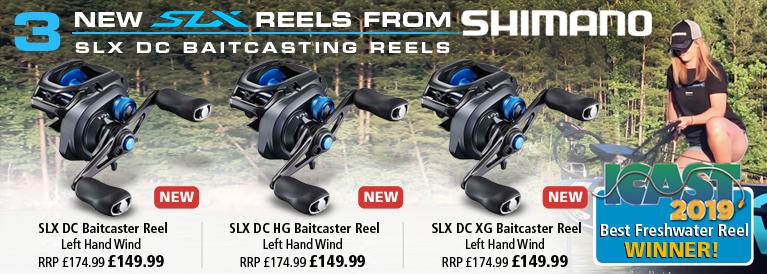Shimano SLX DC Baitcaster Reels