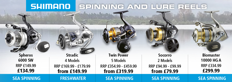 Shimano Spinning and Lure Reels