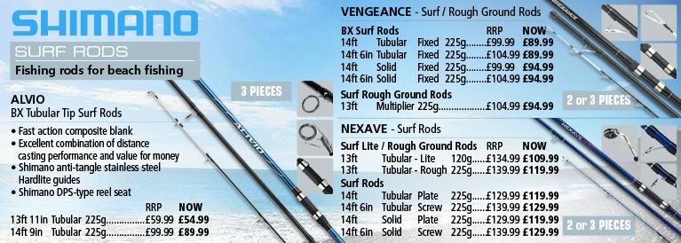 Shimano Surf Rods