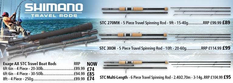 Shimano Travel Rods