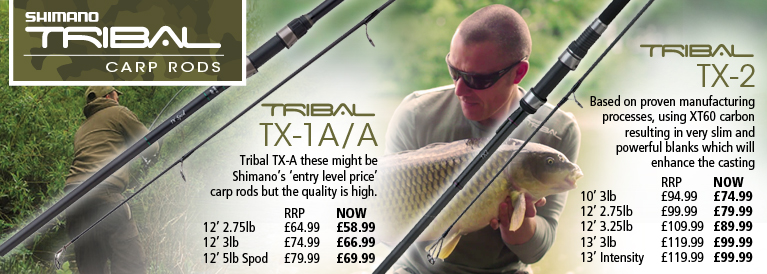 Shimano Tribal TX-1A/A and Tribal TX-2