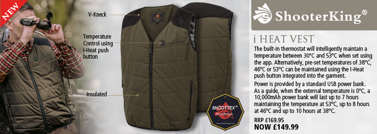 Shooterking iHeat Vest