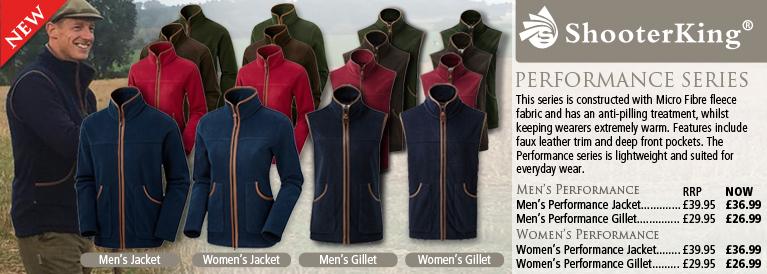Shooterking Performance Fleece Jacket