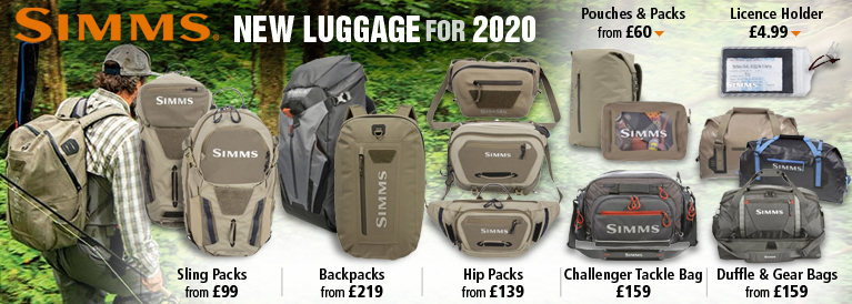 Simms New Luggage for 2020
