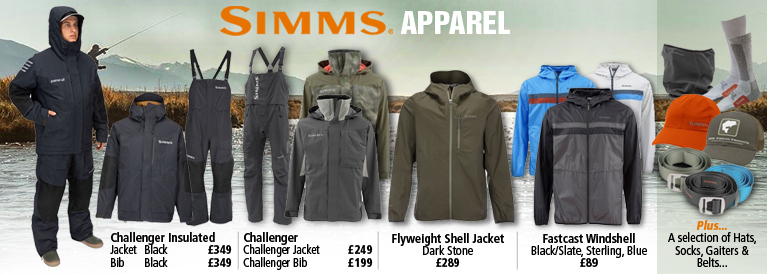 Simms New Products for 2018