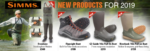 Simms New Products for 2019