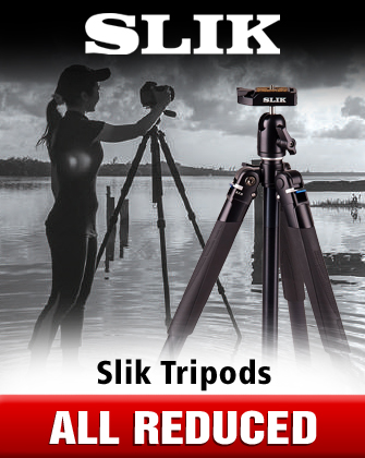 Slik Tripods All Reduced