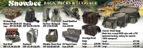 Snowbee Bags, Packs and Cases