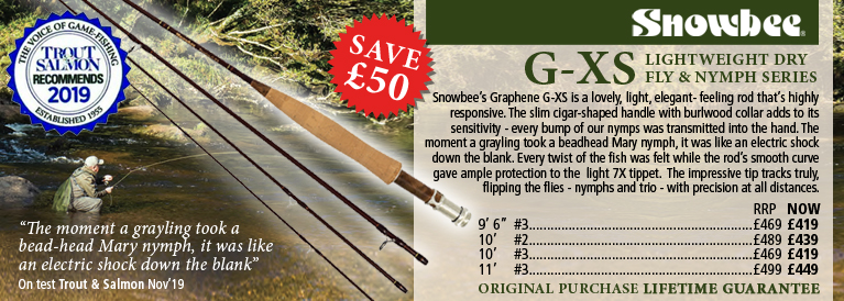 Snowbee G-XS Lightweight Dry Fly & Nymph Series