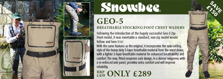 Snowbee Geo 5 Breathable Waders