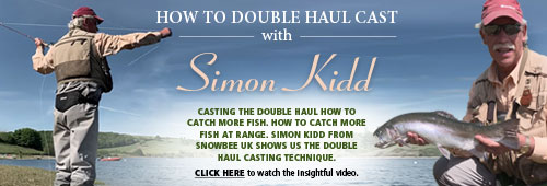 Snowbee How to Double Cast with Simon Kidd 1