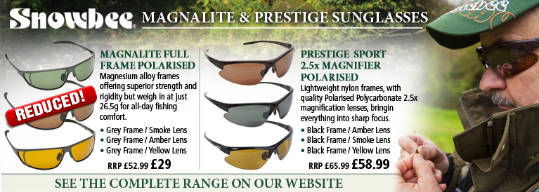 Snowbee Magnalite and Prestige Sunglasses