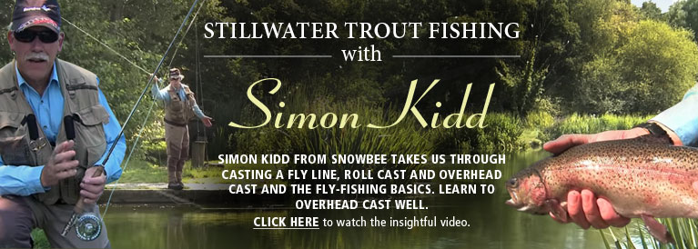Snowbee Still Water Trout Fishing with Simon Kidd Video