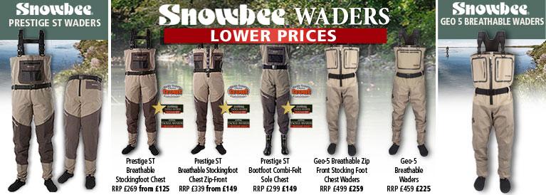 Snowbee Prestige Breathable ST Waders