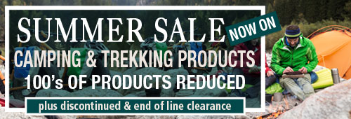 Summer Sale Now On Camping and Trekking Products