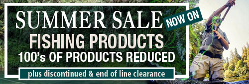Summer Sale Now On Fishing Products