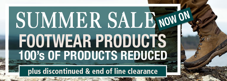 Summer Sale Now On Footwear Products