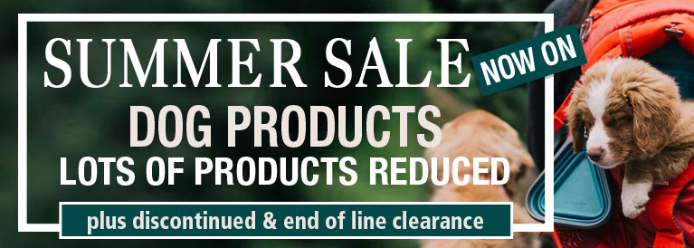 Summer Sale Now On Dog Products