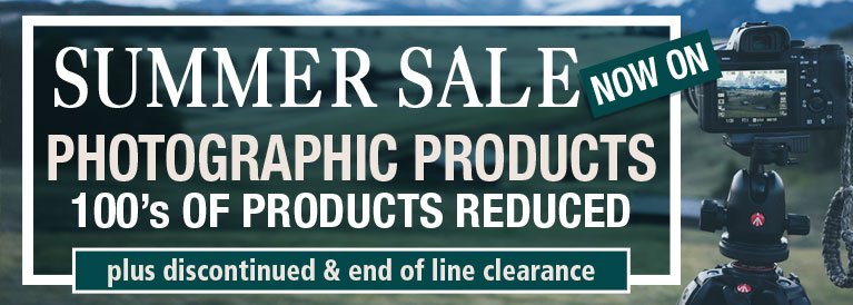 Summer Sale Now On Photographic Products