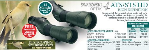 Swarovski ATS & STS Optics