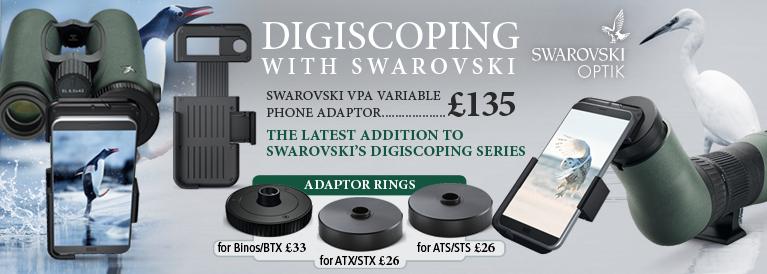 Swarovski Digiscoping VPA Variable Phone Adaptor