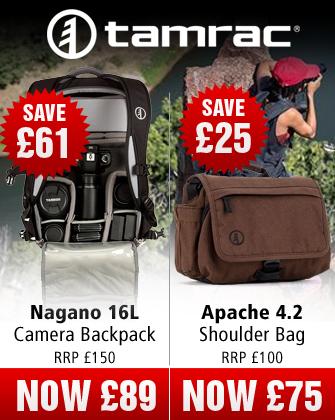 Tamrac Nagano and Apache Camera Bags