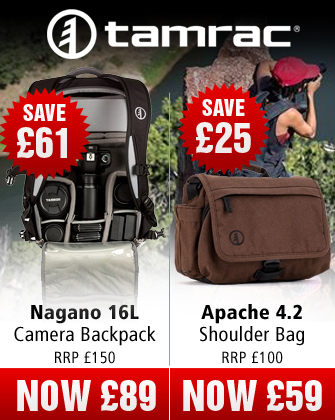 Tamrac Nagano and Apache Camera Bags
