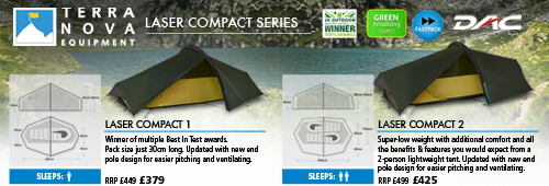 Terra Nova Laser Competition Tents
