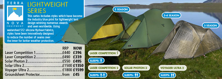 Terra Nova Lightweight Tents