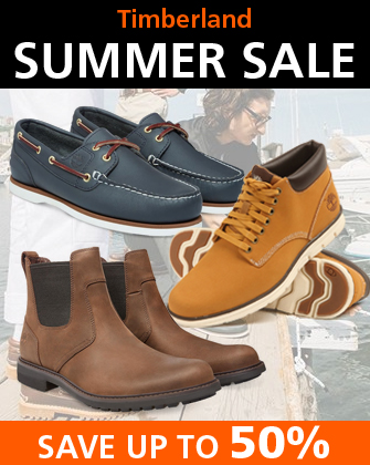 Timberland Summer Sale Save up to 50 Percent