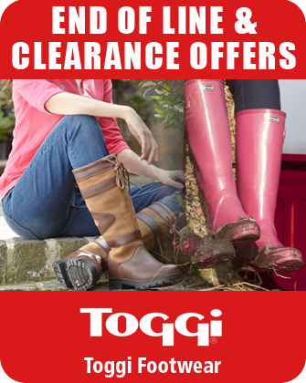 Toggi Footwear End of Line and Clearance Offers