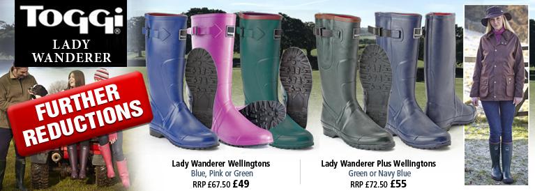 Toggi Lady Wanderer Plus Wellingtons