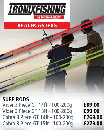 Tronix Fishing Beachcaster Rods