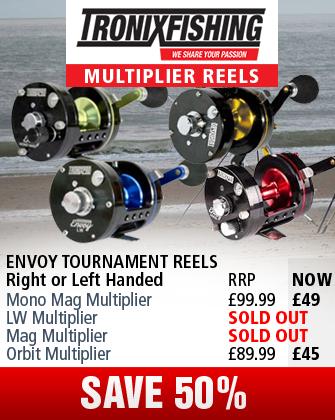 Tronix Envoy Tournament Multiplier Reels