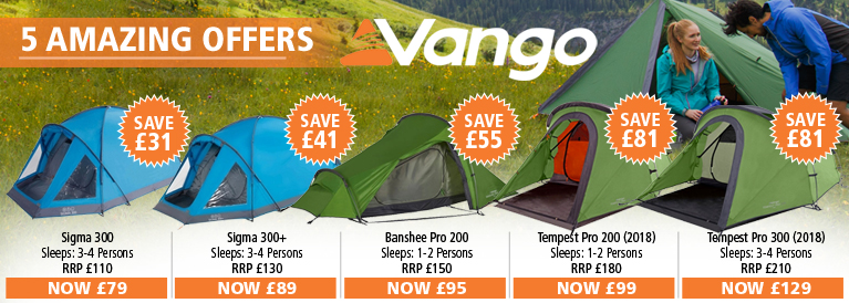 Vango 5 Amazing Offers