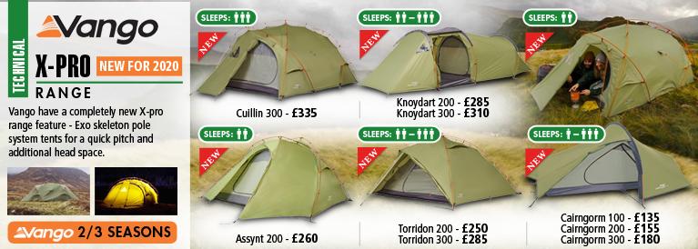 Vango X-PRO Tent Range