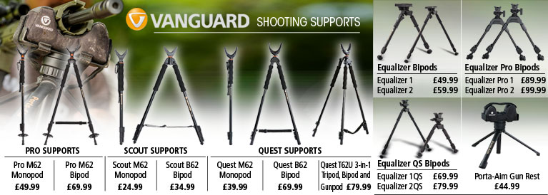 Vanguard Shooting Supports