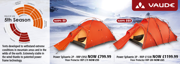Vaude 5th Season Tents