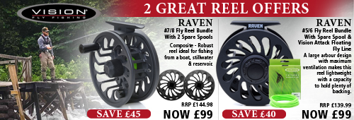 Vision Raven Fly Reels 2 Great Offers