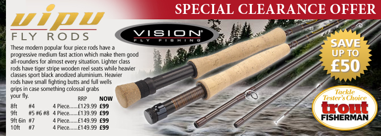 Vision Vipu Fly Rods