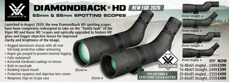 Vortex Diamondback HD Spotting Scopes