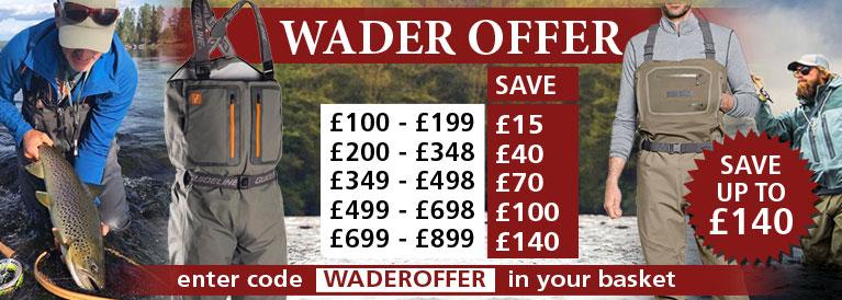 Fishing Wader Offer