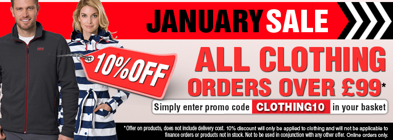 January Sale on Clothing