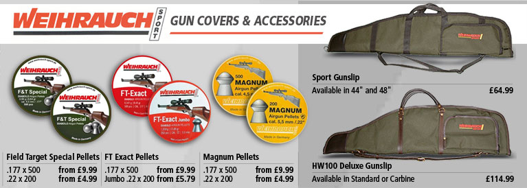 Weihrauch Gun Covers and Accessories