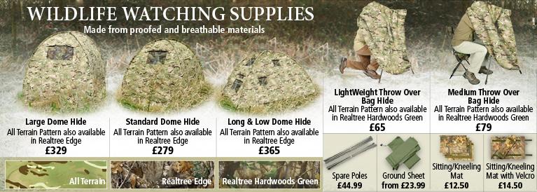 Wildlife Watching Supplies Hides