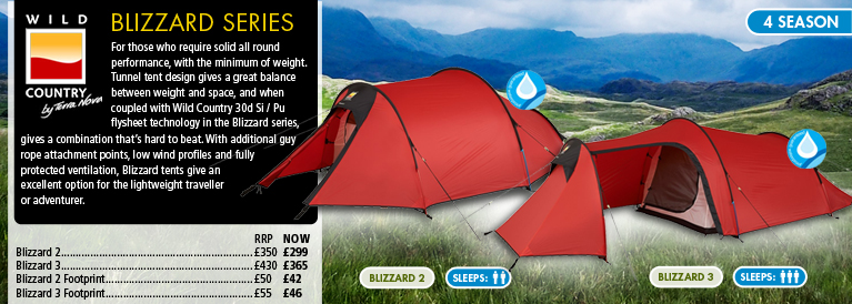 Wild Country Blizzard Tents
